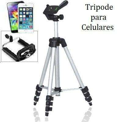Tripode Universal Telescópico Celular Cámaras Tablet, Fotografía y Video