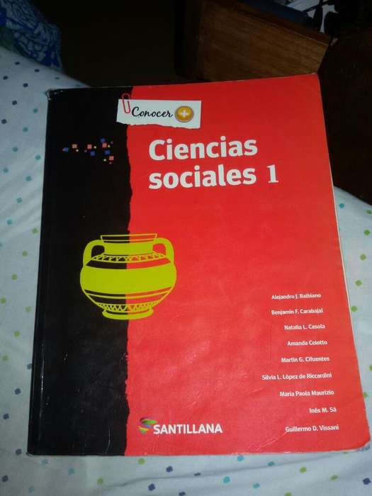 Ciencia Sociales 1 Santillana Conocer