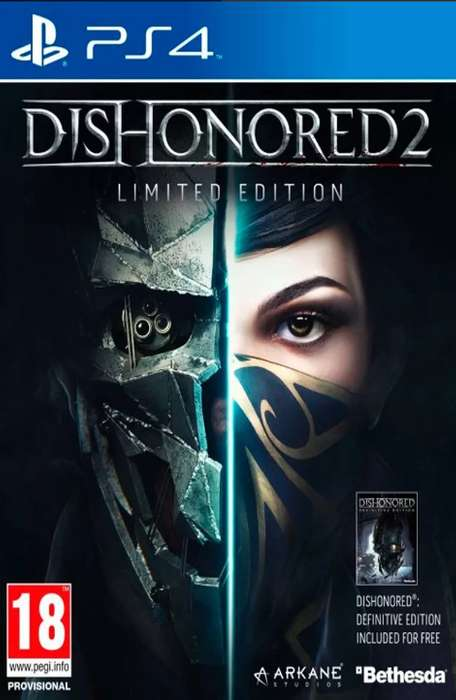 Dishonored 2 Limited Edition Usado