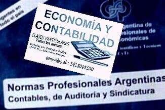 Clases Administración, Economía, Contabilidad, Matemáticas, dictadas por Contador Púbico