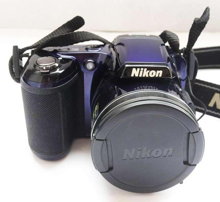 Cámara Digital Nikon. Modelo Coolpix L810. 26x Wide Zoom.