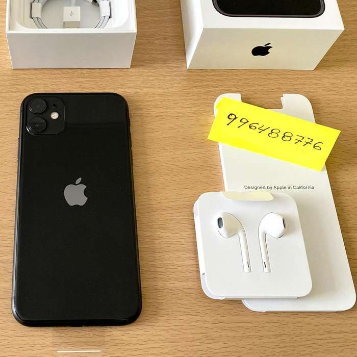 iPhone 11- Entrega Inmediata - 64gb Space Gray - S/.3450