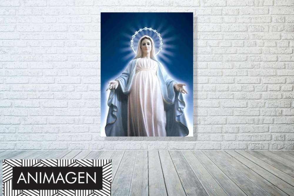 Hermoso cuadro de la virgen 2088