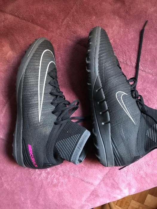 Botines Nike Mercurial X Talle 45