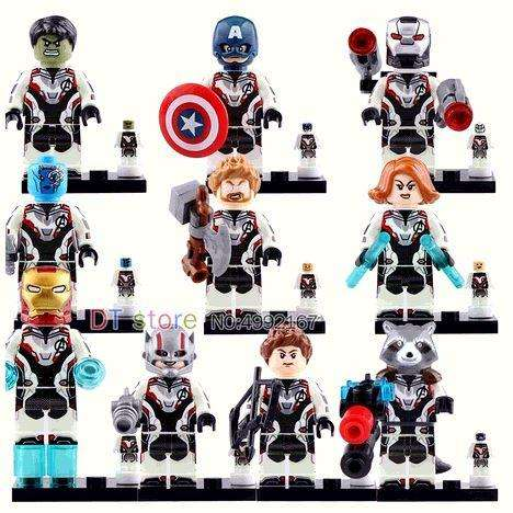 Mini Figuras tipo Lego Avengers 4 End Game