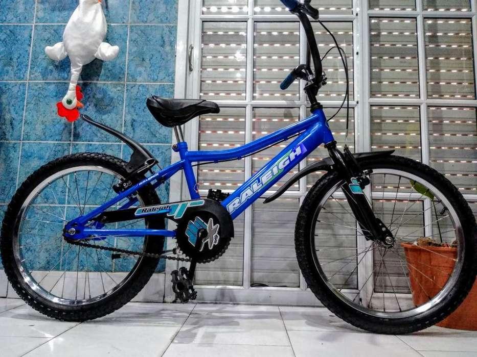 Bicicleta Bmx Rodado 20 Raleigh sin Uso