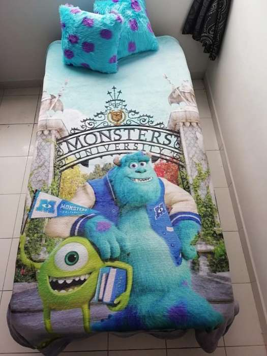 Cobija Monsters University, Más Cojines.