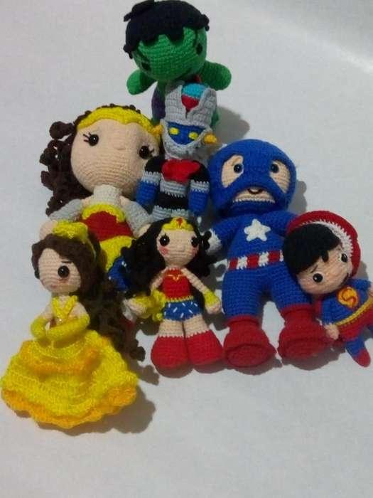 Superhéroes Y Princesas