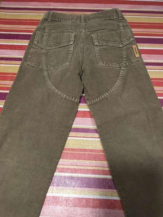 Pantalon Cheeky Corderoy 7/8 Años