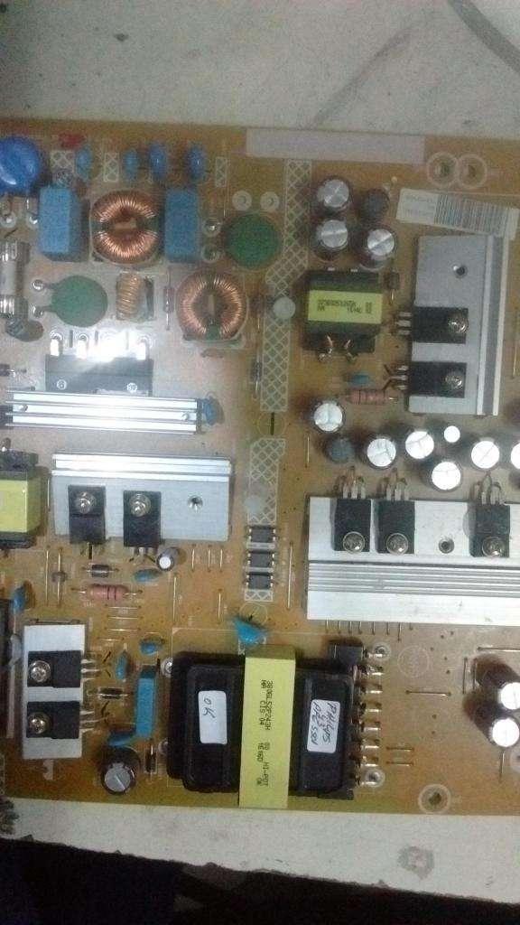 tv 32 placas y tiras led