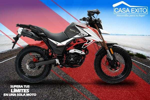 Moto Daytona Dy250 Tekken 250cc Año 2019 Negro / Blanco Casa Éxito