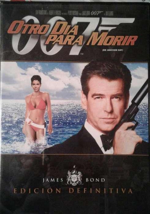 Colección péliculas de James Bond en DVDs....