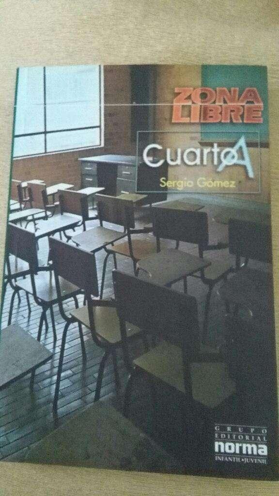 Cuarto A . Sergio Gómez . libro Grupo Norma juvenil