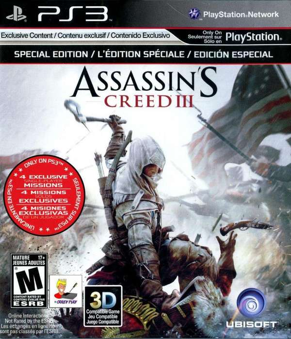 Assassins Creed III Playstation 3