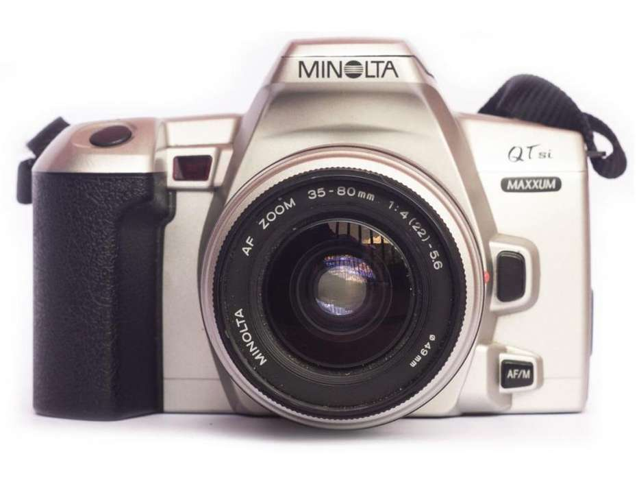 Camara Minolta Maxxum Lente minolta 35-80mm 4-5.6 SONY ALPHA