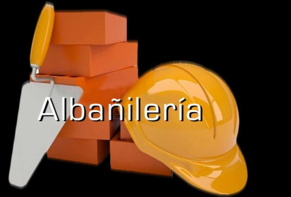 Trabajo de Albañilerias.con Experiencia