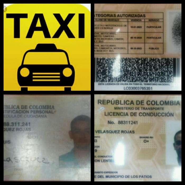 Me Ofrezco Chofer para Taxi Disponible