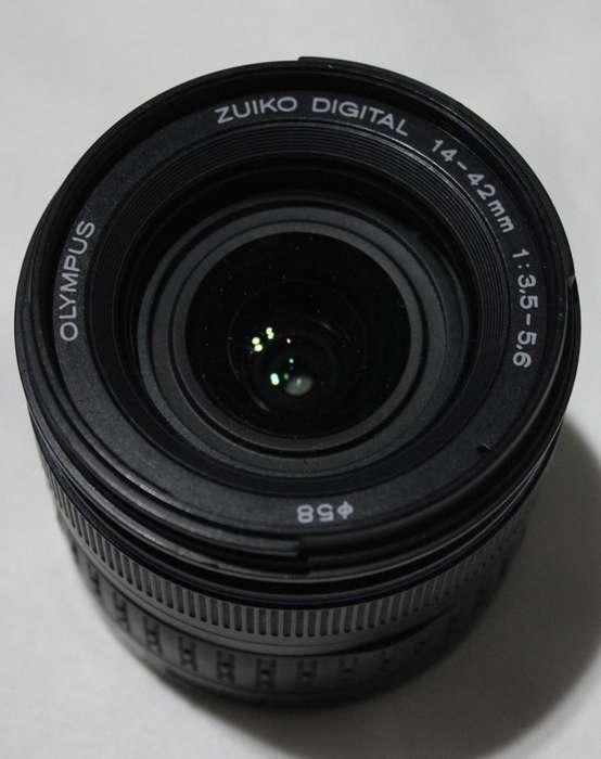 Objetivo Olympus Zuiko 14-42mm f/3.5-5.6 Usado, Buen estado!