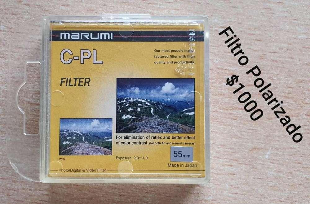 Filtro Polarizado MARUMI de 55 mm