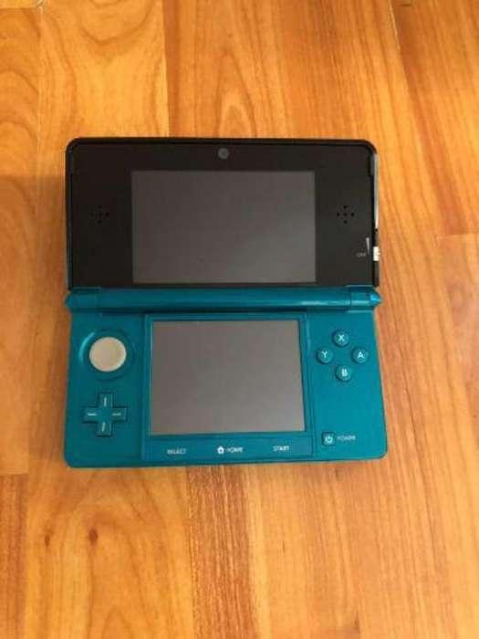 Nintendo 3ds 32gigas 40 Juego Negociable