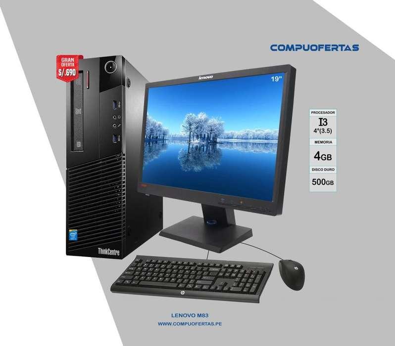 Lenovo Thinkcentre M83 Core i3 de 3.5ghz