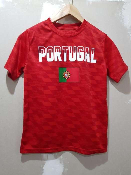 Camiseta Portugal Nene