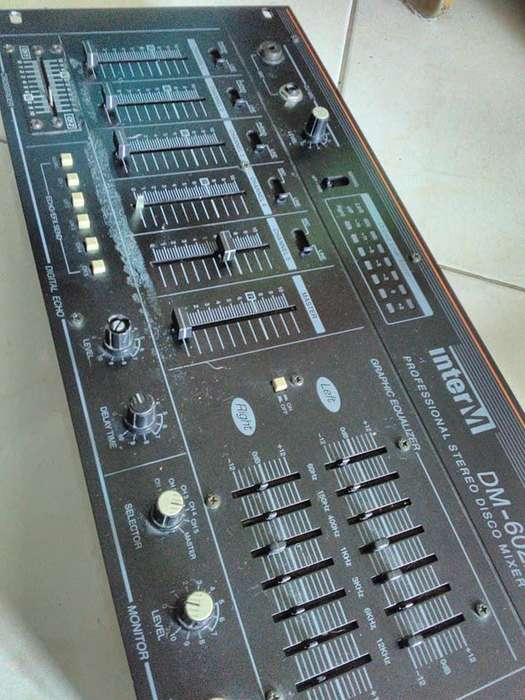 Mixer 5 canales InterM DM-602A
