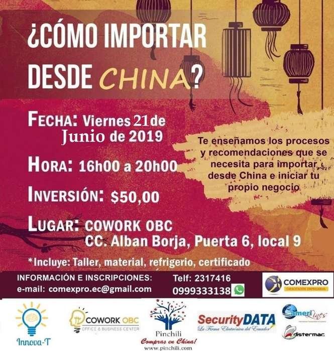 CURSO <strong>seminario</strong> TALLER DE IMPORTACIÓN VIERNES 1 DE JUNIO 2019 GUAYAQUIL 100% PRÁCTICO