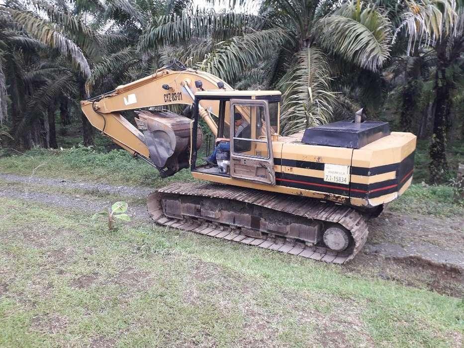 Excavadora El 200 B Año 89 Trabajando