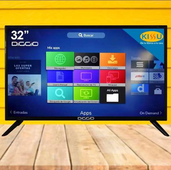 Tv Led Diggio 32 Smart Android Hd Wifi Soporte