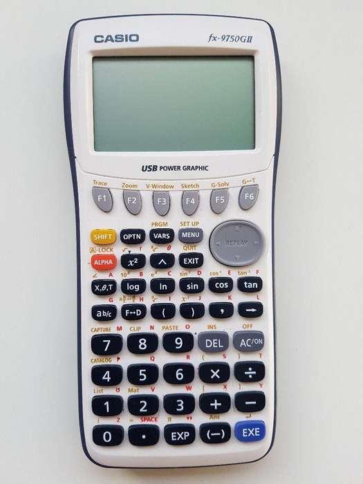 calculadora casio graficadora