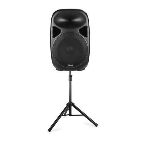 Cabina De Sonido UltraParlantes Para fiesta Bluetooth Usb MicroSd Con Microfono y Tripode. TIENDA EXONICA