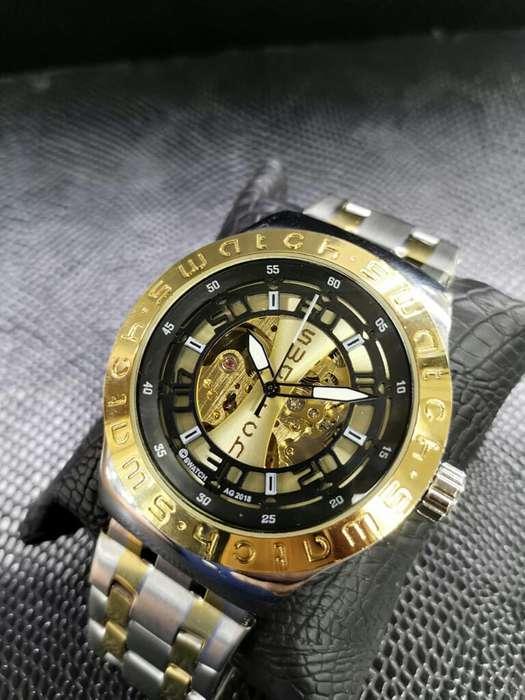 Relojes Automáticos Swatch Pulso Acero