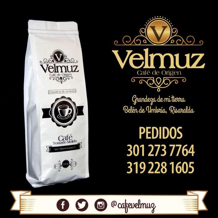 Café Velmuz, Café de origen variedades Caturro y Castillo Naranjal