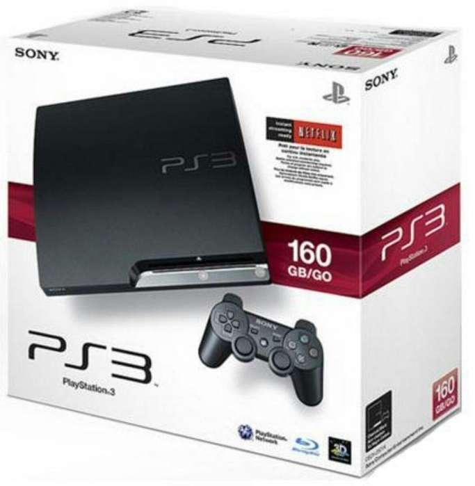 Ps3 Sony Usada Completa 3 Juegos