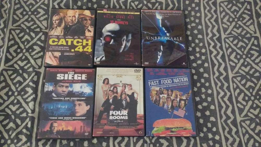 46 cartulas dvd Bruce Willis con box