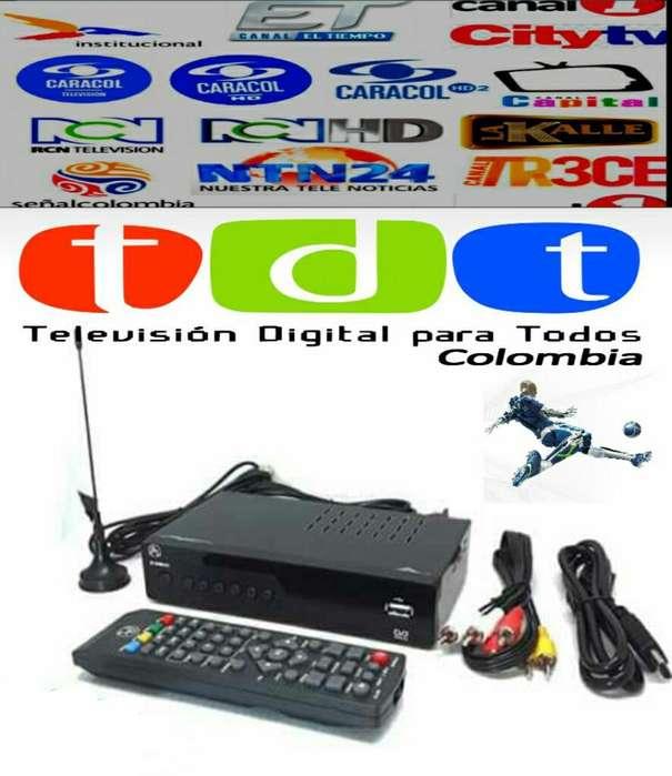 Decodificador Tdt Antena Base Magnética