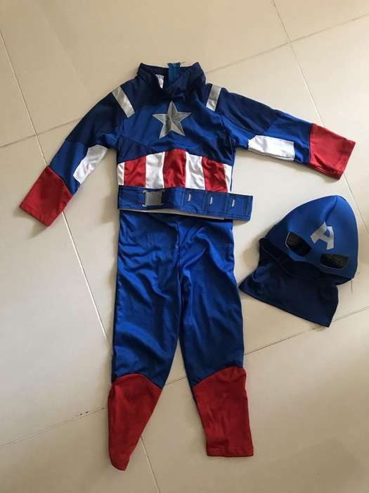 Disfraz Capitan America Talla 6