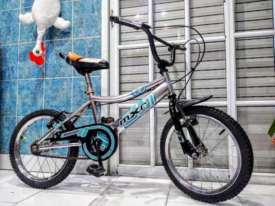 Bicicleta Bmx Raleigh Rodado 16