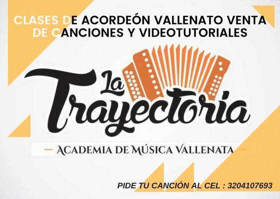 CLASES DE ACORDEÓN VALLENATO, VENTA DE VIDEOTUTORIALES