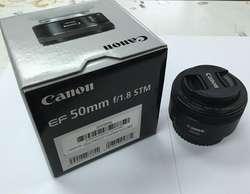 Lente Canon Ef 50mm F/1.8 Stm Luminoso, Retratos, Bokeh
