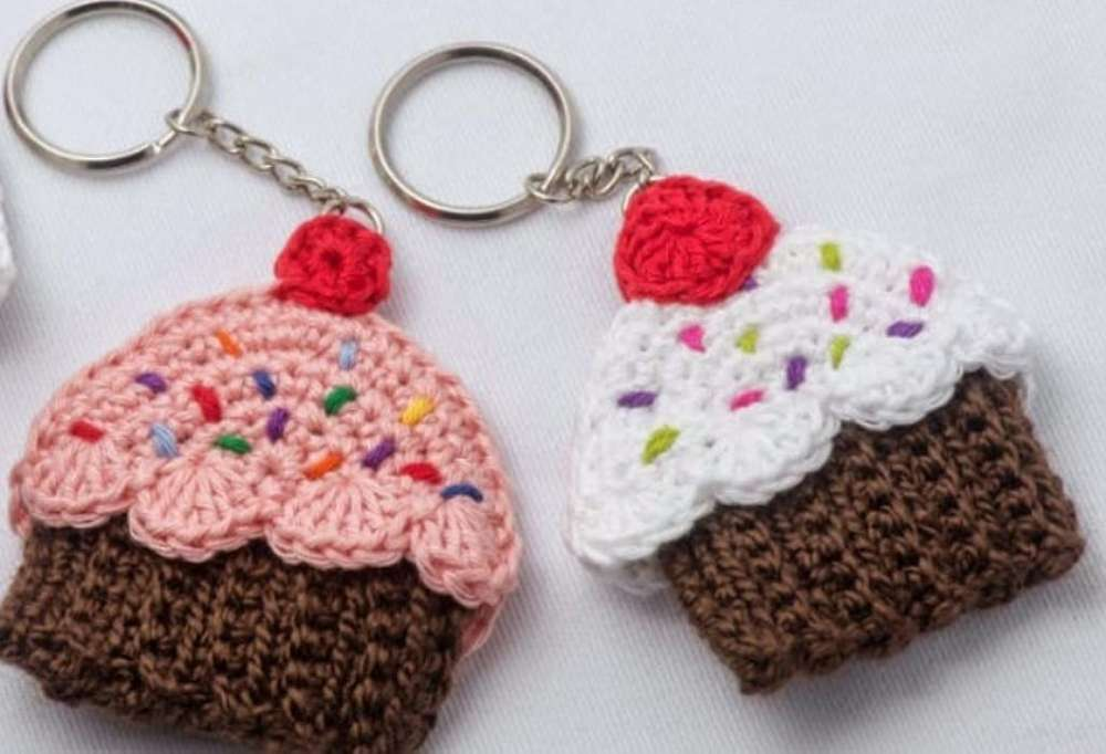 Llaveros Crochet
