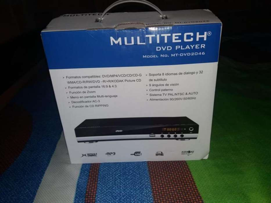DVD PLAYER ECONOMICO 50.000 INFORMACION 3212173595