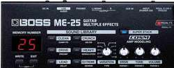 Pedal Multiefectos Boss Me-25