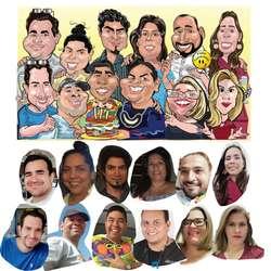 Su Caricatura y retrato!!!...
