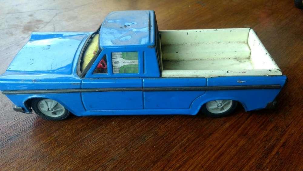 Camioneta Gorgo chapa años 70