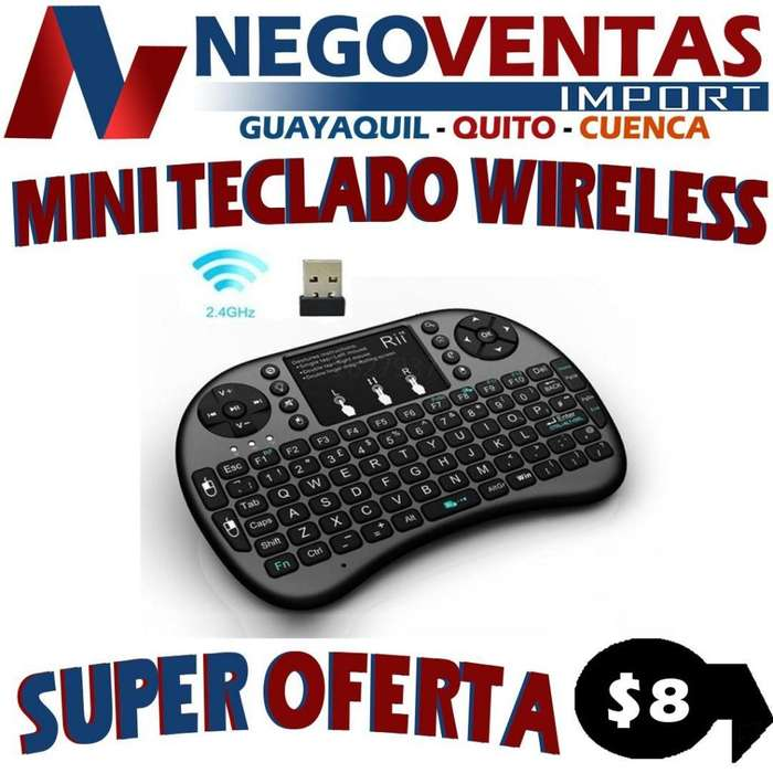 MINI TECLADO INALAMBRICO WIRELESS
