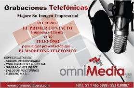 MENSAJES DE BIENVENIDA PARA CENTRALES TELEFONICAS