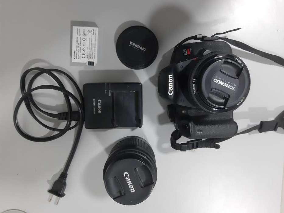 Canon T5i con <strong>accesorios</strong>