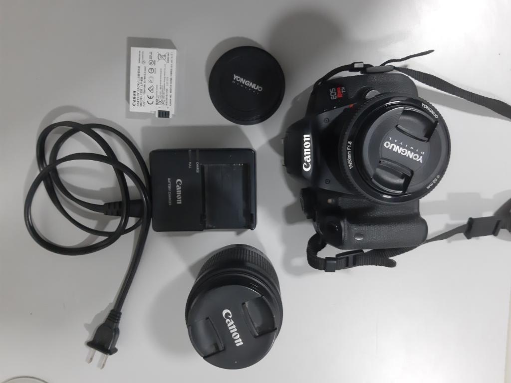 Canon T5i con Accesorios